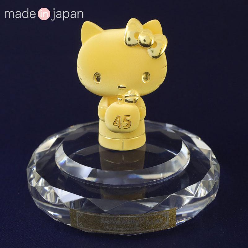 ハローキティ45th 純金製フィギュア