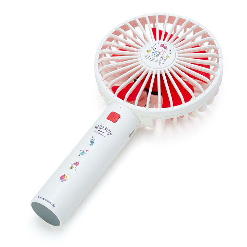 上質 ハローキティ 驚きの値段 USB充電式ハンディ扇風機