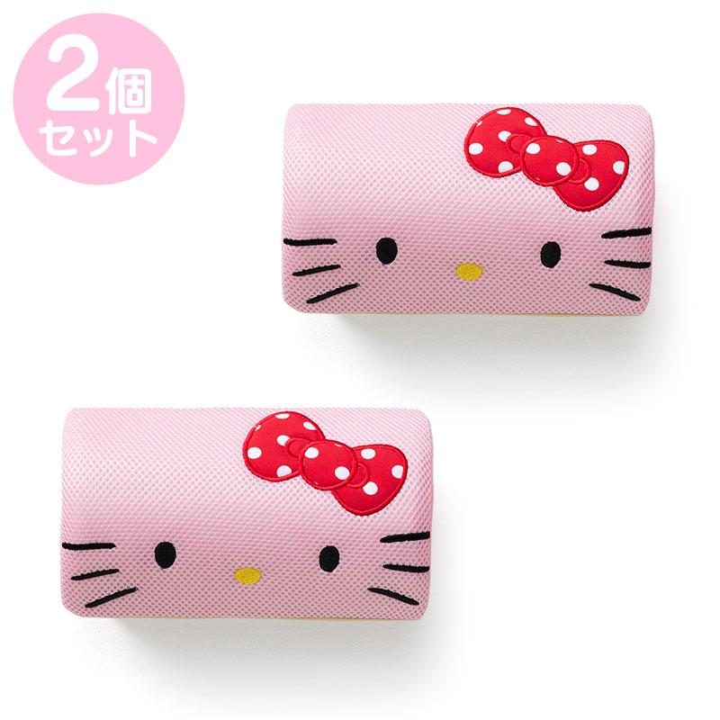 ハローキティ ネッククッション2個セット 定番キャンバス ピンク 人気ブランド多数対象