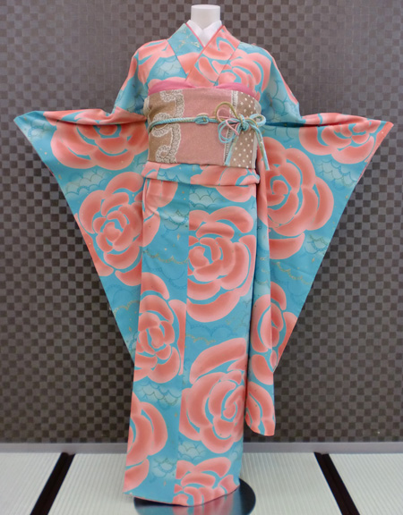 振袖 ふりそで 振袖レンタル 着物 フルセット 送料無料 結婚式 成人式 着物レンタル 【tsumori chisato】 ツモリチサト モダン L-5091