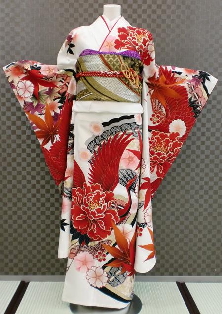 振袖 ふりそで 振袖レンタル 着物 フルセット 送料無料 結婚式 成人式 着物レンタル 【JAPAN STYLE】 古典 L-5080