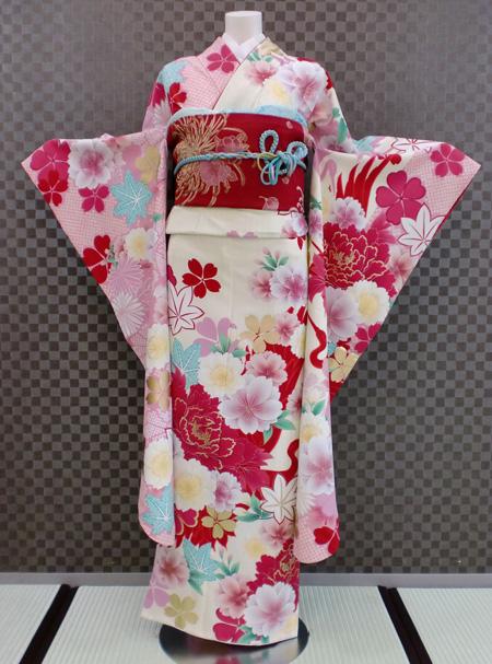 振袖 ふりそで 振袖レンタル 着物 フルセット 送料無料 結婚式 成人式 着物レンタル 【JAPAN STYLE】 古典 L-5081