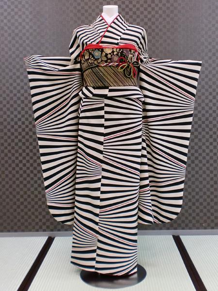 振袖 ふりそで 振袖レンタル 着物 フルセット 送料無料 結婚式 成人式 着物レンタル 【きもの道楽】 モダン L-5098