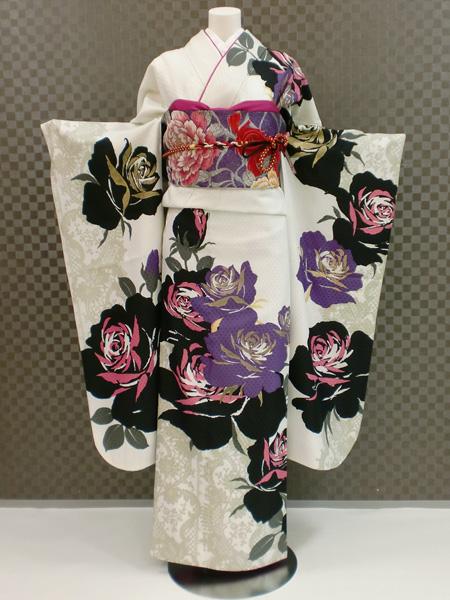 振袖 ふりそで 振袖レンタル 着物 フルセット 送料無料 結婚式 成人式 着物レンタル L-5067