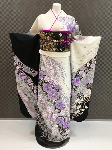 振袖 ふりそで 振袖レンタル 着物 フルセット 送料無料 結婚式 成人式 着物レンタル L-5065