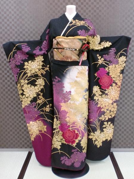 振袖レンタル ふりそでレンタル 着物レンタル ふりそで 結婚式 成人式 振袖 送料無料 着物 トールサイズ L-5048