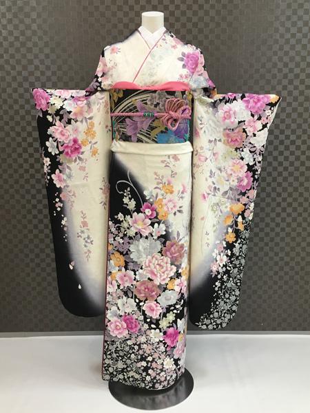振袖 ふりそで 振袖レンタル 着物 フルセット 送料無料 結婚式 成人式 桂由美 着物レンタル モダン L-5113