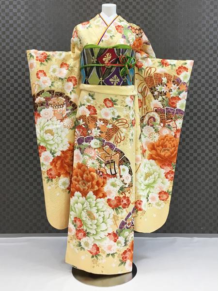 振袖 ふりそで 振袖レンタル 着物 フルセット 送料無料 結婚式 成人式 着物レンタル 古典 L-5118