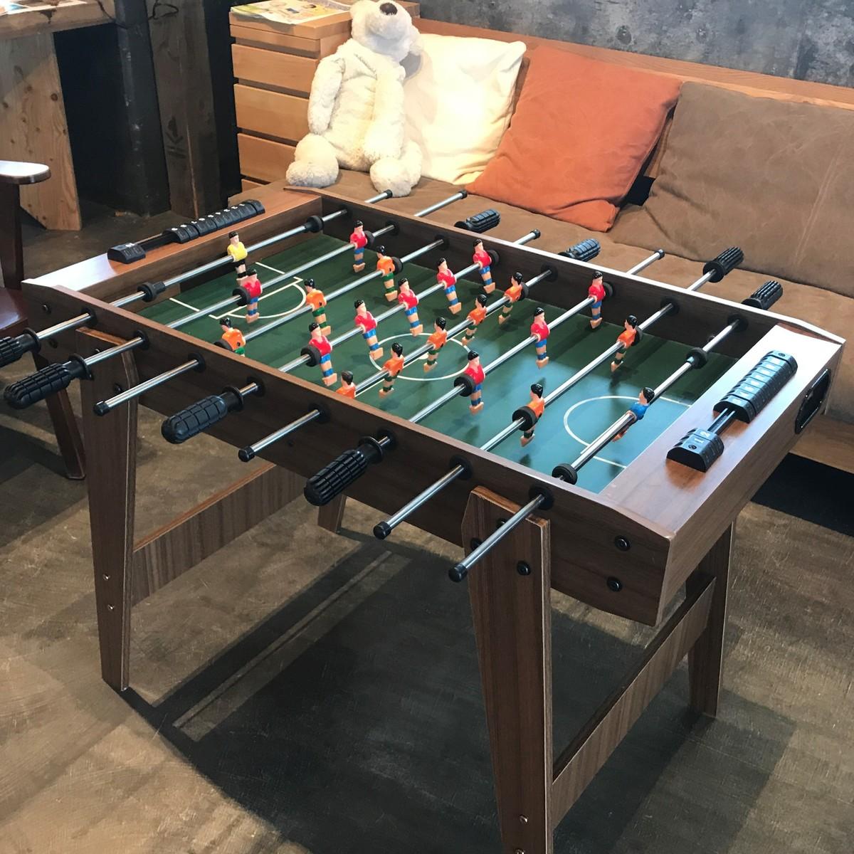 送料無料 サッカーゲーム 本格 テーブルゲーム ボードゲーム サッカーゲーム盤 Soccer game Wood サッカー
