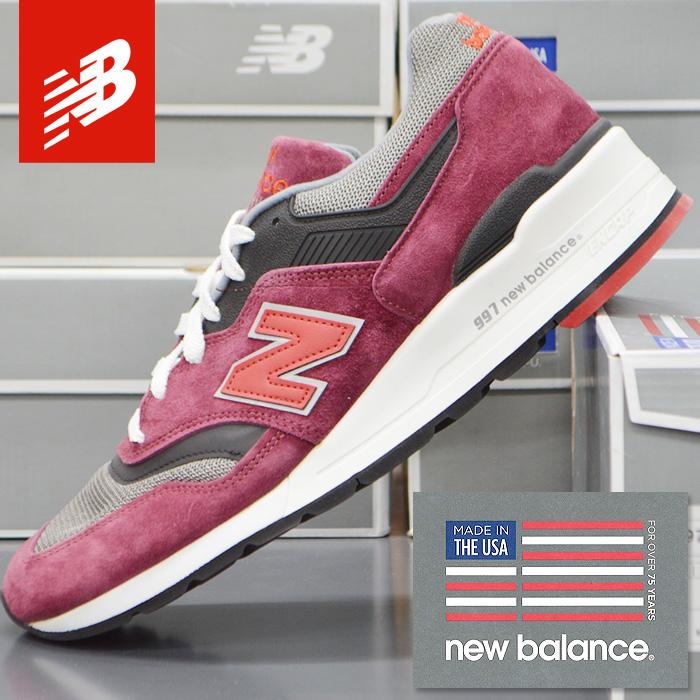 ニューバランス スニーカー メンズ NEW BALANCE M997CRG MADE IN USA アメリカ製 スポーツ シューズ ランニング 靴 ウォーキング