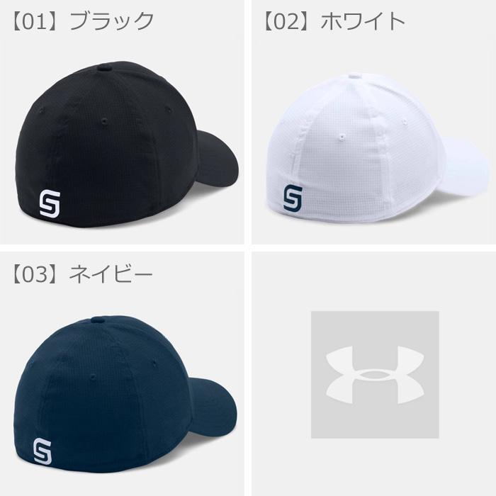 1fd49fcea5a アンダーアーマーキャップメンズ帽子UNDERARMOURJSTOURCAPスポーツゴルフブラックホワイトネイビー