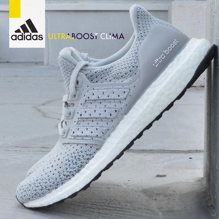アディダスメンズレディースウルトラブーストクライマ Adidas Ultraboost Clima By8889 Man Gentleman Woman Woman Gray Shoes Sneakers Shoes