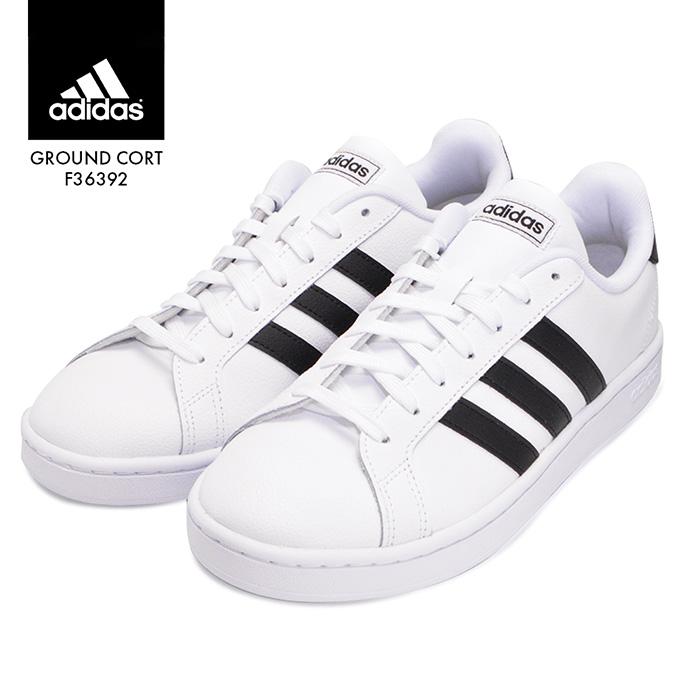【Xmasクーポン配布中】アディダス グランドコートレザー adidas GRANDCOURT LEA U F36392 メンズ 紳士 男性 ホワイト 靴 スニーカー シューズ
