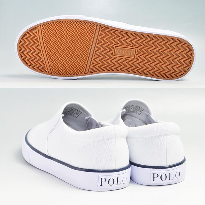 レディース婦人女性POLORALPHLAURENポロラルフローレンカーヴァースニーカースリッポンCARVERTWINGORE通学通勤靴