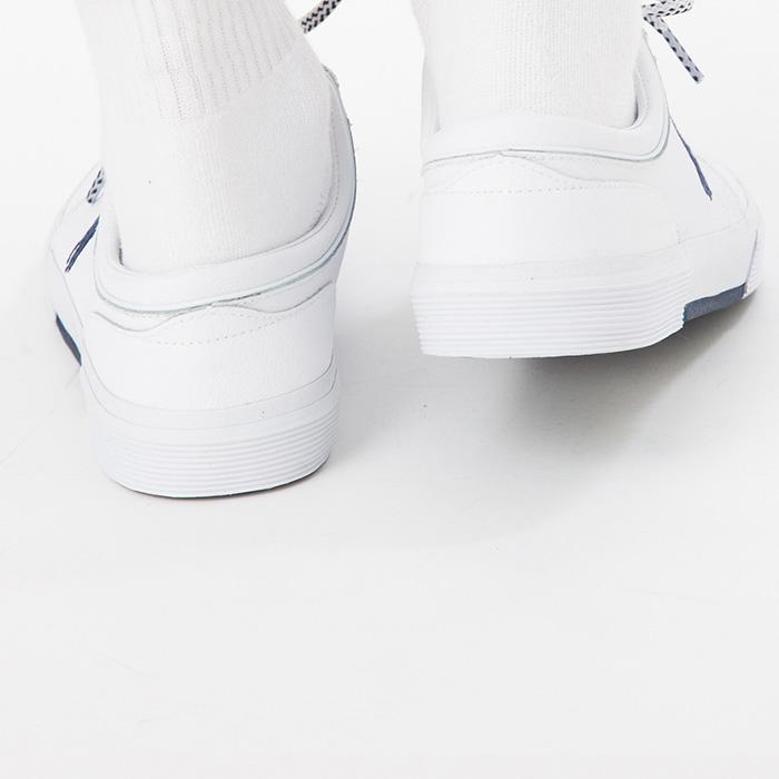 メンズ紳士男性POLORALPHLAURENポロラルフローレンファクソンロウスニーカーFAXSONLOW通学通勤靴ギフトプレゼント