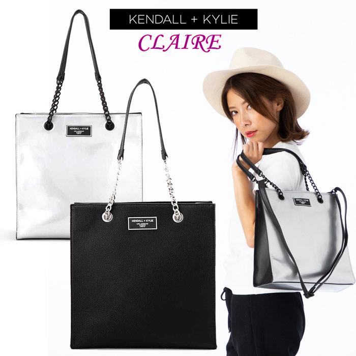 【まとめ買いで5%OFF実施中】Kendall+Kylie ケンダルアンドカイリー CLAIRE クレア レディース 女性 婦人 トートバッグ ハンドバッグ