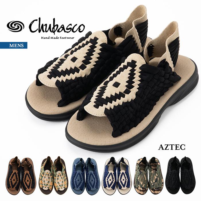 チュバスコ CHUBASCO 正規取扱店 メンズ 紳士 男性 アウトドア サンダル シューズ メキシコ アズテック MADE IN MEXICO MENS AZTEC