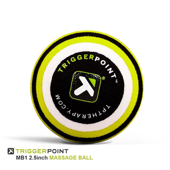 筋肉疲労や痛みの原因により深くアプローチする トリガーポイント マッサージボール TRIGGER POINT MB1 2.5 inch MASSAGE BALL 筋膜リリース コンパクト ヨガ フィットネス マッサージ ユニセックス トレーニング