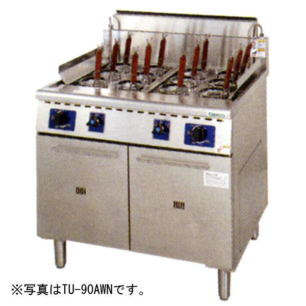 【新品・送料無料・代引不可】タニコー 2槽式 角型ゆで麺器[フリザル8つ] W900*D600*H800 TU-90WN