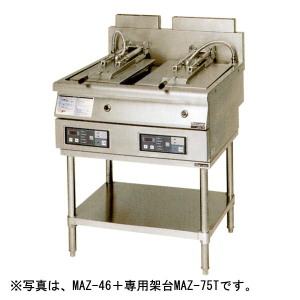 【新品・送料無料・代引不可】マルゼン ガス自動餃子焼器-専用架台-MAZ-65T