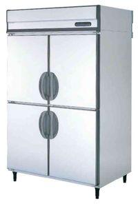 【フクシマ 業務用冷蔵庫】 [ 幅1490・縦型・薄型・内装ステンレス鋼板・単相100V ] URN-150RM6 旧:URN-150RM3 W1490*D650*H1950