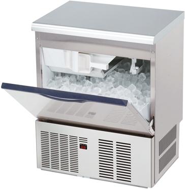 【業務用 製氷機】ダイワ幅630  [ バーチカルタイプ・日産45kgタイプ・単相100V ] DRI-45LME W630*D450*H800