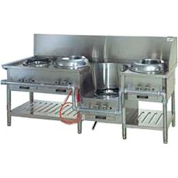 【中華レンジ】タニコー  [ 4口レンジ:餃子・イタメ・スープ・麺 ]CR-II 2000mm*750mm*750mm 都市ガス