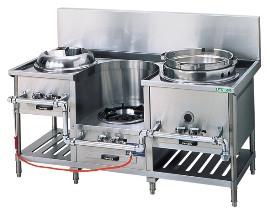【中華レンジ】タニコー [ 3口レンジ:イタメ・麺・スープ ](平底型ゆで麺用鍋) CR-160H