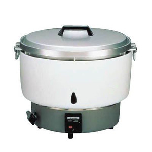 【新品・送料無料・代引不可】リンナイ ガス炊飯器 5.5升炊き RR-50S1 LPガス 525*D481*H447 業務用 炊飯器