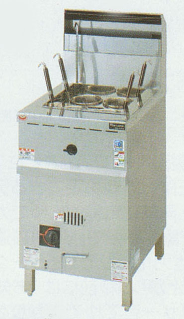 【新品・送料無料・代引不可】マルゼン MRLN-06C ラーメン釜 都市ガス13A