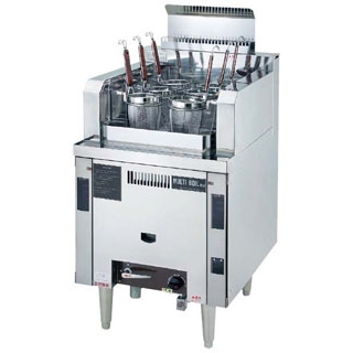 【新品・送料無料・代引不可】ガス式 自動 ゆで麺機 マルチ・ボイル NSU-6-60H W600*D750*H750