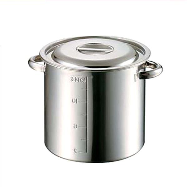 【寸胴鍋】51cmステンレス目盛付寸胴鍋 104L ステンレス 仕込み 鍋 大量 業務 ラーメン スープ 015158 φ510*H510