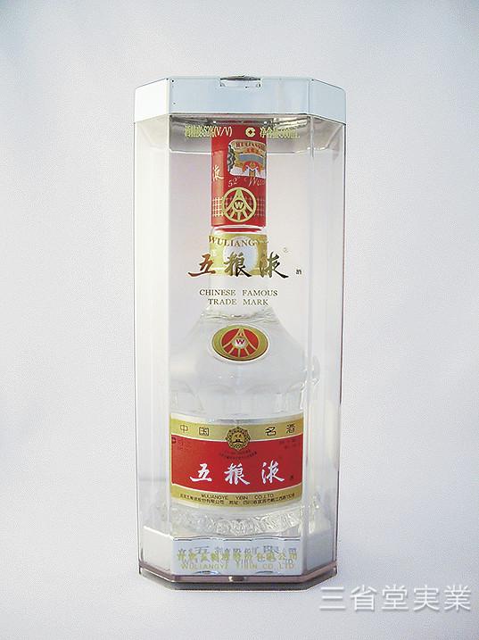 【送料無料(本州限定)・代引不可】五粮液 [瓶] 52度 500ml SK3356