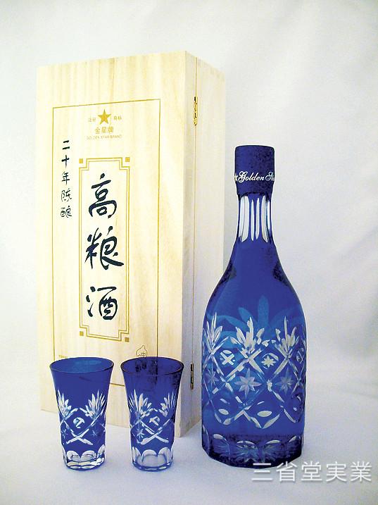 【送料無料(本州限定)・代引不可】20年陳醸高粮酒 [瓶] 53度 700ml×6本 SK0202
