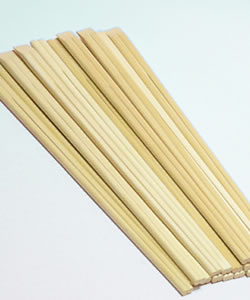 20.5 cm disposable chopsticks Aspen Genroku chopsticks (5000 set pieces) 002902 L205