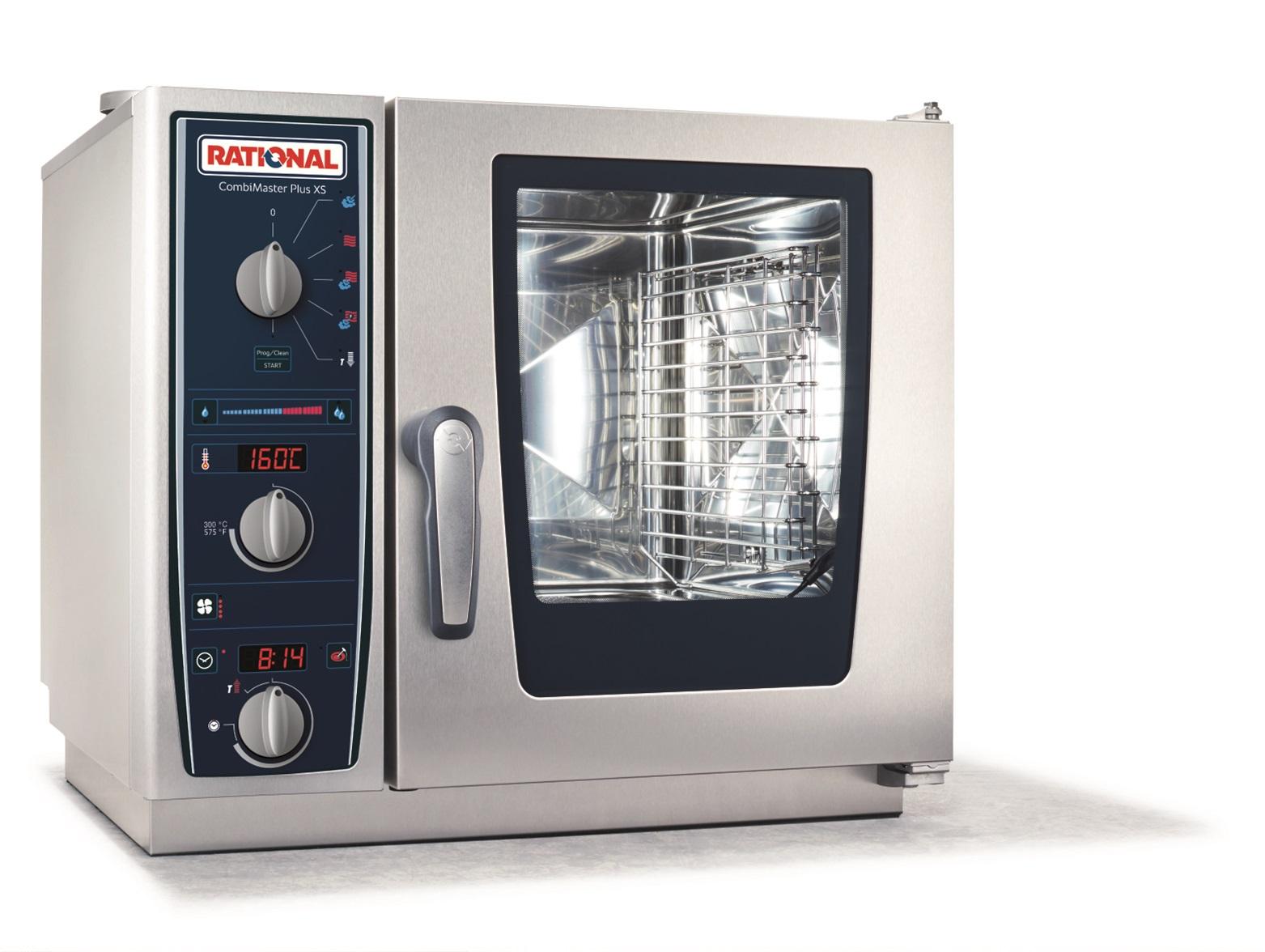 CombiMasterPlusXS6-2/3 E (6 x 2/3 GN) 幅657×奥行657×高さ897 3AC 200V 5.3kW スチームコンベクションオーブン ラショナル