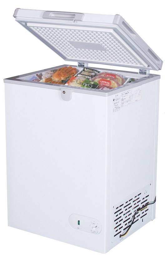 【新品・送料無料・代引不可】冷凍ストッカー98L 100VST98-OR W545*D590*H850
