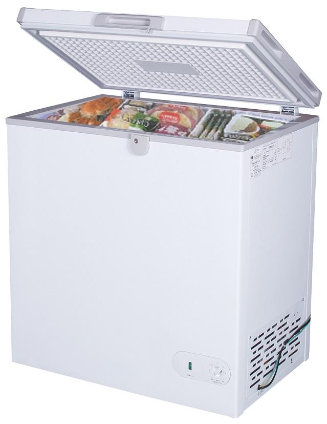 【新品・送料無料・代引不可】冷凍ストッカー152L ST152-OR W735*D590*H850