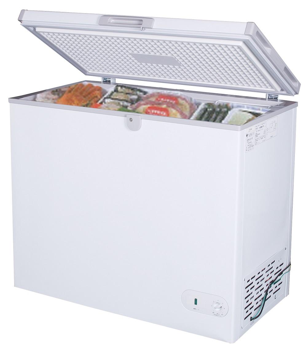 【新品・送料無料・代引不可】冷凍ストッカー197L ST197-OR W895*D590*H850