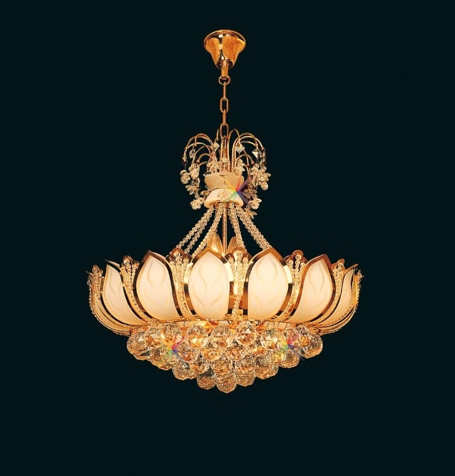 【代引不可・特注品】46cmシャンデリア 装飾品 灯り 灯篭 照明 ライト 灯籠 φ460*480
