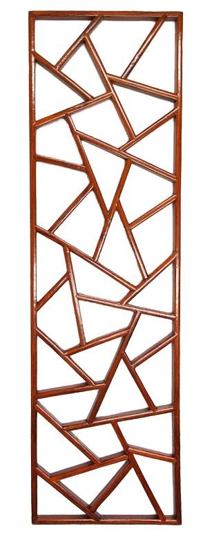 【格】氷花格 ヒョウカカク 両面塗装 装飾品 内装 本場 飾り 中華 木製 B-095 W300*H1000