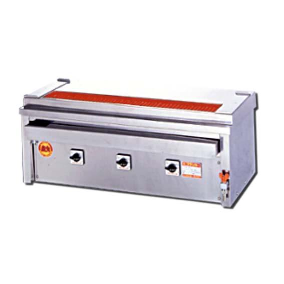 【新品・送料無料・代引不可】ヒゴグリラー 電気式 焼鳥専用タイプ 卓上タイプ 3p-212kc W1000xD410xH390