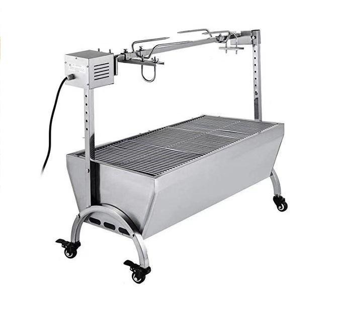 STA02 電動回転式炭火肉(羊、子豚)丸焼き機W1065*W445*H948mm 送料無料
