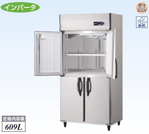 【新品・送料無料・代引不可】大和冷機 業務用 縦型冷蔵庫 321YCD-NP-EC W900×D650×H1905(mm)