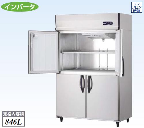 【新品・送料無料・代引不可】大和冷機 業務用 縦型冷蔵庫 421YCD-NP-EC W1200×D650×H1905(mm)