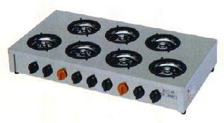 ガステーブルコンロ 飯城 厨房機器 調理機器 M-607C W920*D490*H160(mm)
