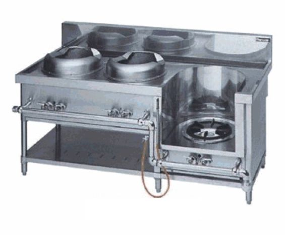 中華レンジ(マルゼン)・イタメ2、スープ 厨房機器 調理機器 MRS-113DC W1650*D750*H720(mm)