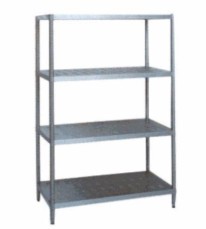 棚メタルラック、シェルフ(4段) 厨房機器 調理機器 PA1390 W605*D307*H1384(mm)