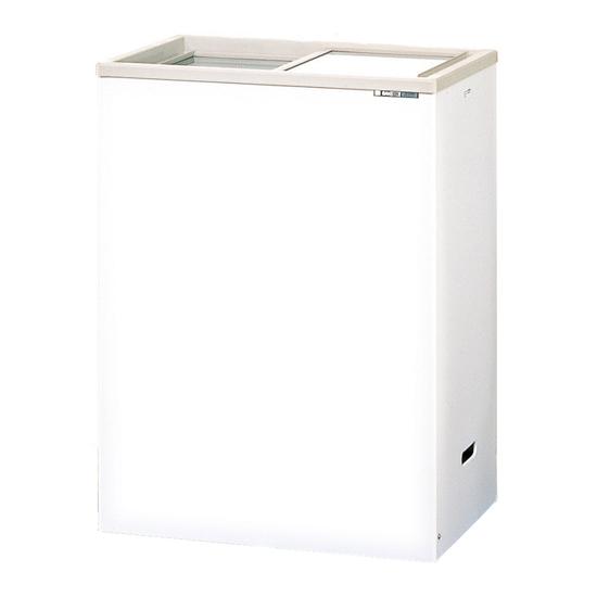 冷凍ストッカー(スライドドア) 100V 115L ガラス蓋 厨房機器 調理機器 PF-G120XE W696*D458*H915(mm)