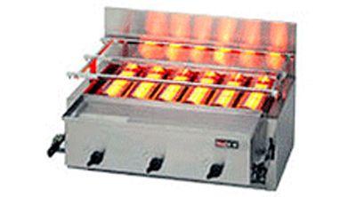 ガス赤外線グリラー(リンナイ)・下火式 厨房機器 調理機器 RGA-406B W780*D580*H305(mm)